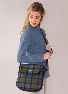 Orla Satchel Bag Harris Tweed