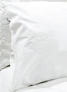 Killarney Embroidered Housewife Pillowcases Set of 2