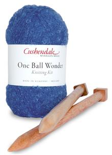 One Ball Wonder Knitting Kit Azure