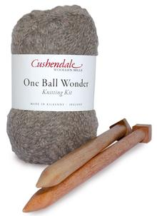 One Ball Wonder Knitting Kit Mink