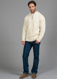 Patrick Half Zip Sweater