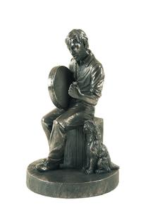 Bodhran Player Statue