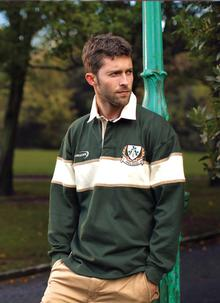 Ireland Three Shamrock Rugby Shirt