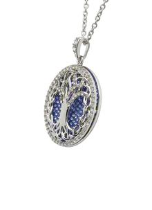 8ed2ffa2fb0fc Tree Of Life Pendant Embellished With Swarovski Crystals
