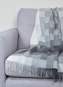 Grey Spectrum Throw