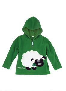 Green Ireland Sheep Fleece