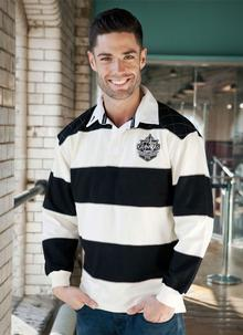 Guinness Stripe Rugby Shirt