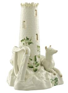 Belleek Classic Round Tower Centerpiece
