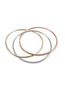 Triple Mixed Bangle