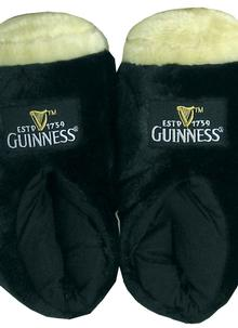 Guinness Black Giant Pint Slippers