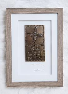 Blarney Exclusive St. Brigid Blessing Plaque