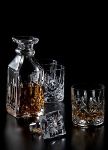 Waterford Crystal Heritage Lismore Square Decanter