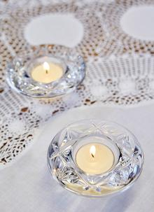 Waterford Crystal Set of 2 Votives