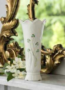 Belleek Shamrock Woodland Vase