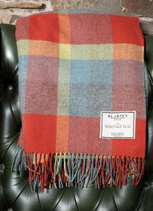 Woodlands Check Lambswool Throw