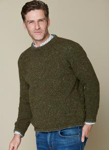 Wool Cashmere Roundstone Sweater