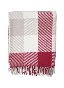 Wool Check Throw
