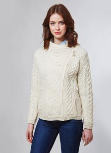 Aran Cable Biker Jacket