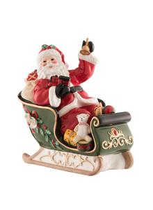 Musical Santa On A Sleigh