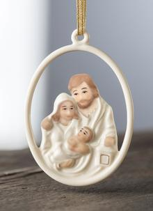 Nativity Family Ornament