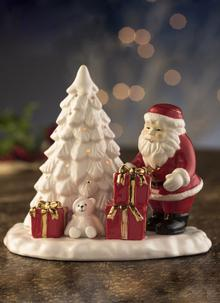 Santa & Christmas Tree Votive