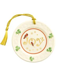 Joy Plate Ornament