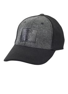 Men's Black Tweed Celtic Baseball Cap