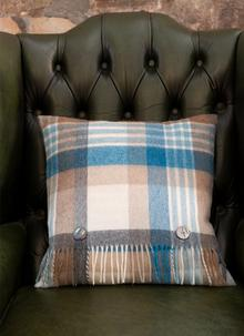 Melbourne Stripe Lambswool Cushion