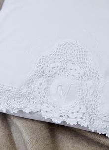 Blarney Monogram Housewife Pillowcase - M