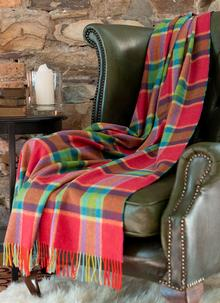 Spring Awakening Lambswool Throw