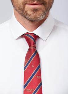 Book of Kells Red Silk Tie