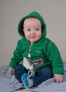 Boys Hooded Ram Fleece