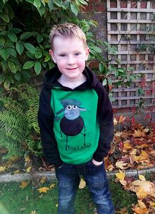 Boys Ireland Farmer Sheep Hoodie
