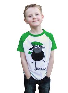 Kids Ireland Farmer Sheep T-Shirt