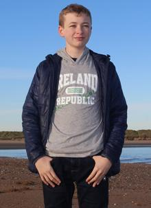 Boys Ireland Republic Lightweight Hoodie