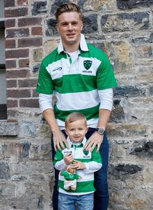 Boys Ireland Stripe Rugby Shirt