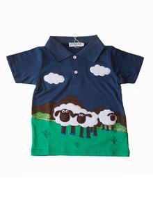 Boys Irish Sheep Polo Shirt