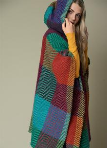 Sarah Hooded Cape Sunshine