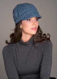 Newsboy Hat Denim Plain