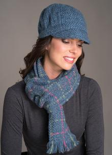 Country Scarf Denim Check
