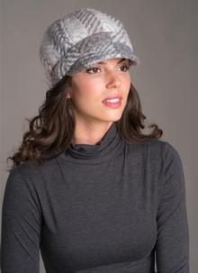 Newsboy Hat Multi Beige