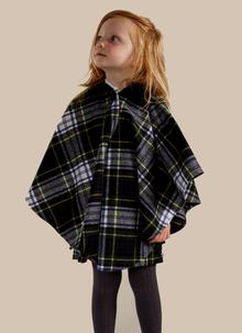 Children's Traditional Tartan Cape