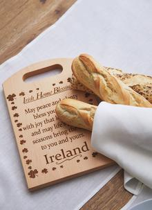 Large Irish Beech Chopping Board With Home Blessing