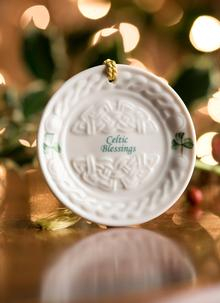 Celtic Blessings Hanging Ornament