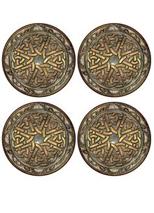 Celtic Knot Coasters Set of 4