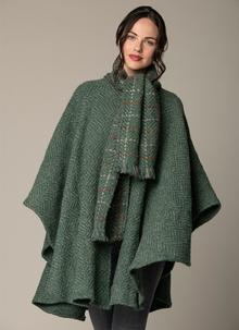 Ciara Cape Loden Green