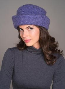 Country Hat Violet Plain