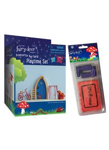 Fairy Playtime Set With Welcome Mat & Boots