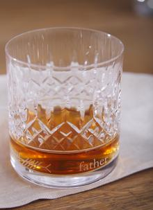 Waterford Crystal Lismore Ogham Father Tumbler