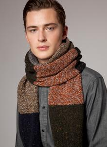 Fisherman Donegal Fleck Scarf - Forager